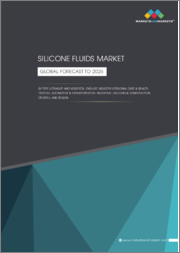 Silicone Fluids Market by Type (Straight, Modified), End-Use Industry (Personal Care & Beauty, Textiles, Automotive & Transportation, Industrial, Building & Construction),& Region (North America, Europe, APAC, MEA, South America)-Global Forecast to 2026