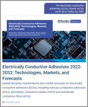 Electrically Conductive Adhesives 2022-2032: Technologies, Markets, and Forecasts