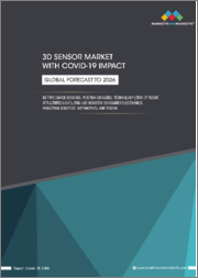 3D Sensor Market with COVID-19 Impact, by Type (Image Sensors, Position Sensors), Technology (Time of Flight, Structured Light), End-use Industry (Consumer Electronics, Industrial Robotics, Automotive), and Region, Global Forecast to 2026