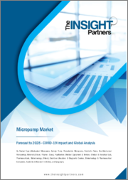 Micropump Market Forecast to 2028 - COVID-19 Impact and Global Analysis By Product Type ; Material ; Application ; End-User, and Geography