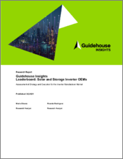 Guidehouse Insights Leaderboard Report: Solar and Storage Inverter OEMs - Assessment of Strategy and Execution for the Inverter Manufacturer Market