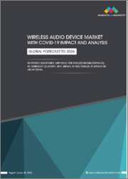 Wireless Audio Device Market with COVID-19 Impact Analysis Product, Technology (Bluetooth, Wi-Fi, Bluetooth+Wi-Fi, Airplay), Application (Home Audio, Consumer, Commercial, Automotive), Functionality and Region - Global Forecast to 2026