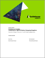 Guidehouse Insights Leaderboard Report - Light EV Battery Swapping Suppliers: Assessment of Strategy and Execution for 14 Light EV Battery Swapping Suppliers