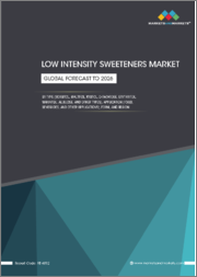 Low Intensity Sweeteners Market by Type (Sorbitol, Maltitol, Xylitol, D-Tagatose, Erythritol, Mannitol, Allulose), Application (Food, Beverages), Form (Dry, Liquid), and Region (North America, Europe, APAC, South America, & RoW)- Global Forecast to 2026