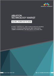 Ablation Technology Market by Product (Radiofrequency, Laser, Ultrasound (ESWL,HIFU), Microwave, Electrical), Application (Cardiovascular, Cancer, Gynecological, Cosmetic, Pain Management), End User (Hospitals, ASC, Medical spas)-Global Forecast to 2026