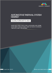 Automotive Thermal Systems Market by Application (Front & rear A/C, Engine & Transmission, Seat, Steering, Battery, Motor, Power Electronics, Waste Heat Recovery), Technology, Components, Vehicle Type and Region - Global Forecast to 2026