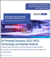 3D Printing Ceramics 2022-2032: Technology and Market Outlook