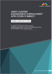 Video Content Management System Market with COVID-19 Impact by Component Application (Education and Learning, Enterprise Communications, Recruitment and Training, Virtual Events), Deployment Model, Industry Vertical and Region - Global Forecast to 2026