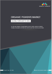 Organic Pigments Market by Source (Synthetic and Natural), Type (Azo, Phthalocyanine, HPPs), Application (Printing inks, Paints & Coatings, Plastics), and Region (North America,Europe,APAC,MEA,and South America) - Global Forecast to 2026