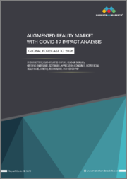 Augmented Reality Market with COVID-19 Impact Analysis, by Device Type (Head-mounted Display, Head-up Display), Offering (Hardware, Software), Application (Consumer, Commercial, Healthcare), Technology, and Geography - Global Forecast to 2026