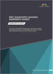 BRIC Diagnostic Imaging Equipment Market by Modality ((X-Ray Imaging (Digital, Analog), MRI (High & Low Field), CT (Conventional, CBCT), Nuclear Imaging (SPECT, Hybrid PET)), End User (Hospitals, Imaging Centers) - Global Forecast to 2024