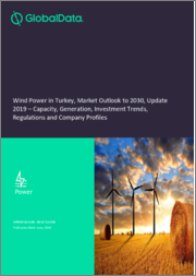 Wind Power in Turkey, Market Outlook to 2030, Update 2019 - Capacity, Generation, Investment Trends, Regulations and Company Profiles