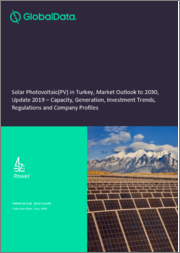 Solar Photovoltaic (PV) in Turkey, Market Outlook to 2030, Update 2019 - Capacity, Generation, Investment Trends, Regulations and Company Profiles
