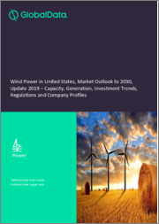 Wind Power in the United States, Market Outlook to 2030, Update 2019 - Capacity, Generation, Investment Trends, Regulations and Company Profiles
