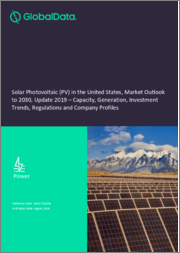 Solar Photovoltaic (PV) in the United States, Market Outlook to 2030, Update 2019 - Capacity, Generation, Investment Trends, Regulations and Company Profiles
