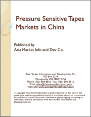 Pressure Sensitive Tapes Markets in China