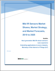 Mid-IR Sensors: Market Shares, Strategies and Forecasts, Worldwide 2019 to 2025
