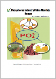 Phosphorus Industry China Monthly Report 1901