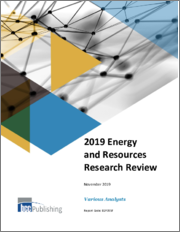 2018 Energy and Resources Research Review