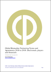 Global Biomarker Partnering Terms and Agreements 2014-2019: Deal trends, players and financials