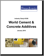 Global Cement & Concrete Additives