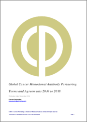 Global Cancer Monoclonal Antibody Partnering Terms and Agreements 2014-2019: Deal trends, players and financials