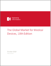 The Global Market for Medical Devices, 10th Edition (45 Specific Device Markets and 50 Country Markets Forecasted to 2024)