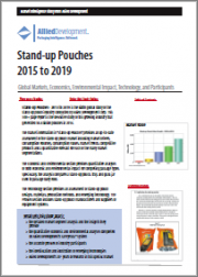 Stand-up Pouches - Global Markets, Drivers, and Forecasts - 2019 to 2023