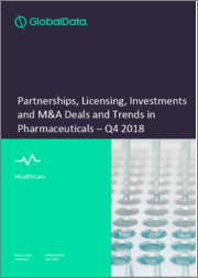 Partnerships, Licensing, Investments and M&A Deals and Trends in Pharmaceuticals - Q3 2018