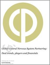 Global Central Nervous System Partnering 2014-2019: Deal trends, players and financials