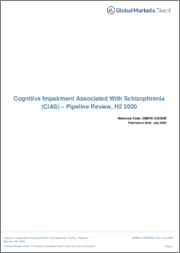 Cognitive Impairment Associated With Schizophrenia (CIAS) - Pipeline Review, H1 2019