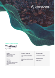 Thailand Power Market Outlook to 2030, Update 2020 - Market Trends, Regulations, and Competitive Landscape