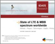 World LTE Markets - 5G Initiatives & MBB Spectrum - Dataset & Report: Markets at December 2017 & Forecasts up to 2022 - Markets - Players - Technologies - Spectrum
