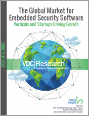 The Global Market for Embedded Security Software: Verticals and Startups Driving Growth