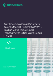 Brazil Cardiovascular Prosthetic Devices Market Outlook to 2025 - Cardiac Valve Repairs and Transcatheter Mitral Valve Repair (TMVR)