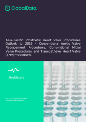 Asia-Pacific Prosthetic Heart Valve Procedures Outlook to 2025 - Conventional Aortic Valve Replacement Procedures, Conventional Mitral Valve Procedures and Transcatheter Heart Valve (THV) Procedures