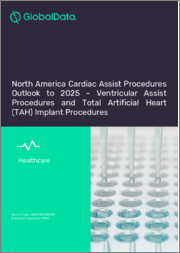 North America Cardiac Assist Procedures Outlook to 2025 - Total Artificial Heart (TAH) Implant Procedures and Ventricular Assist Procedures
