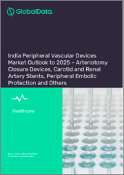 India Peripheral Vascular Devices Market Outlook to 2025 - Arteriotomy Closure Devices, Carotid and Renal Artery Stents, Peripheral Embolic Protection