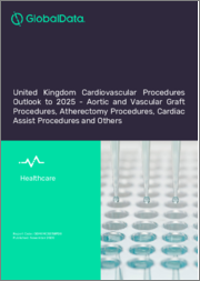 United Kingdom Cardiovascular Procedures Outlook to 2025 - Aortic and Vascular Graft Procedures, Atherectomy Procedures, Cardiac Assist Procedures and Others
