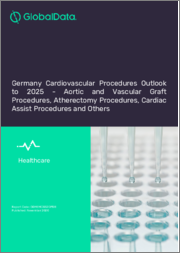 Germany Cardiovascular Procedures Outlook to 2025 - Cardiac Assist Procedures, Cardiac Rhythm Management (CRM) Procedures, Cardiovascular Surgery Procedures, Clot Management Procedures and Others