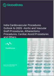India Cardiovascular Procedures Outlook to 2025 -Aortic and Vascular Graft Procedures, Atherectomy Procedures, Cardiac Assist Procedures and Others