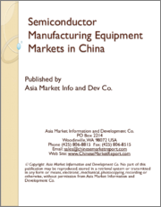 Semiconductor Manufacturing Equipment Markets in China