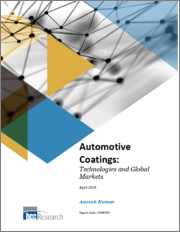 Automotive Coatings: Technologies and Global Markets