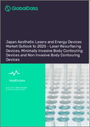 Japan Aesthetic Lasers and Energy Devices Market Outlook to 2025 - Laser Resurfacing Devices, Minimally Invasive Body Contouring Devices and Non Invasive Body Contouring Devices