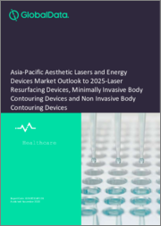 Asia-Pacific Aesthetic Lasers and Energy Devices Market Outlook to 2025 - Laser Resurfacing Devices, Minimally Invasive Body Contouring Devices and Non Invasive Body Contouring Devices