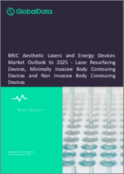 BRIC Aesthetic Lasers and Energy Devices Market Outlook to 2025 - Laser Resurfacing Devices, Minimally Invasive Body Contouring Devices and Non Invasive Body Contouring Devices