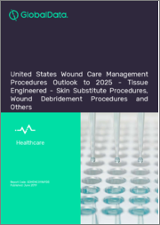 United States Wound Care Management Procedures Outlook to 2025 - Tissue Engineered - Skin Substitute Procedures, Wound Debridement Procedures and Others