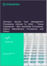 Germany Wound Care Management Procedures Outlook to 2025 - Tissue Engineered - Skin Substitute Procedures, Wound Debridement Procedures and Others