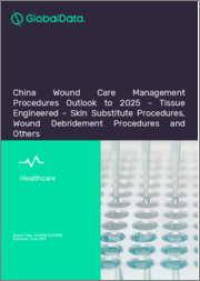 China Wound Care Management Procedures Outlook to 2025 - Tissue Engineered - Skin Substitute Procedures, Wound Debridement Procedures and Others
