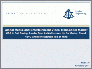 Global Media and Entertainment Video Transcoders Market, Forecast to 2025